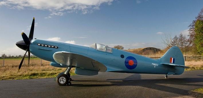 Supermarine Spitfire Photo Reconnaissance PR. XIX PM651