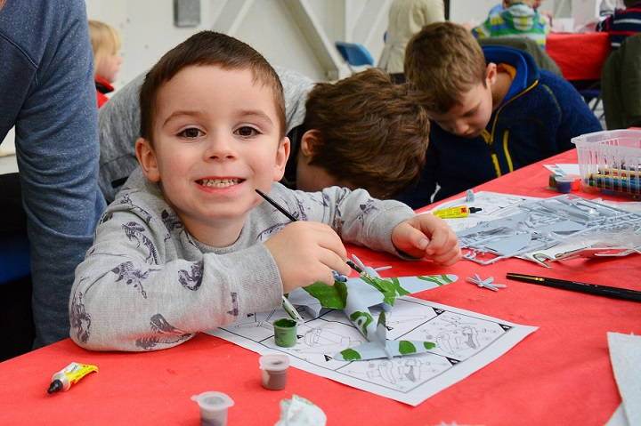 Modelling fun for families at half term