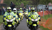 Emergency Bikers at Cosford