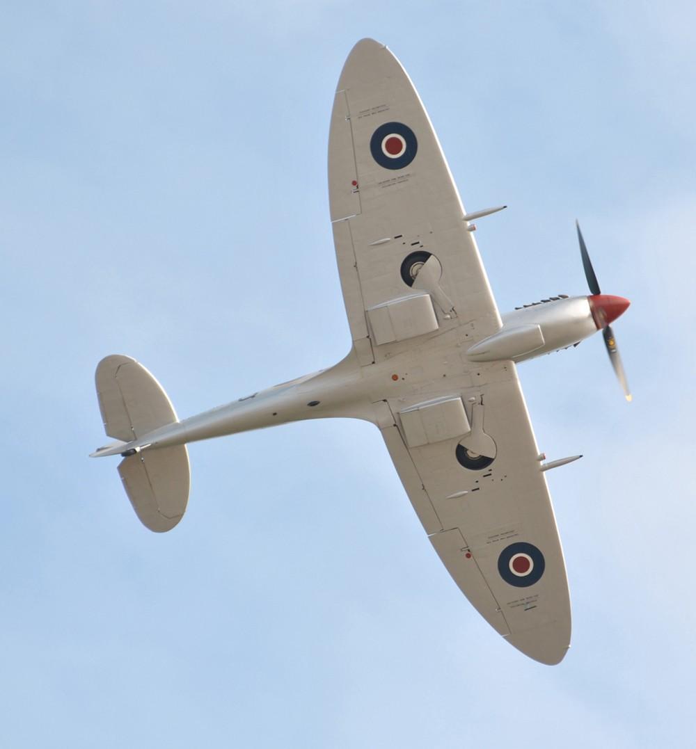 Battle of Britain Memorial Flight Spitfire Flypast