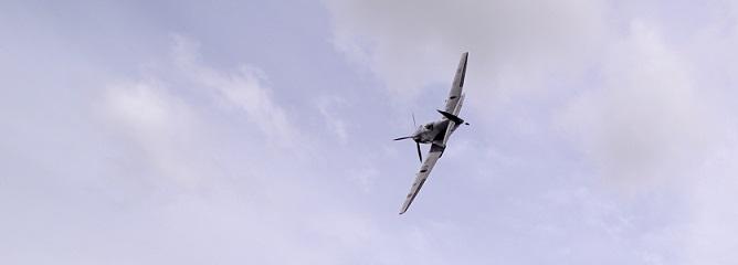 Battle of Britain Memorial Flight Spitfire