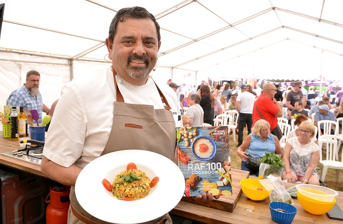Cosford dishes up another tasty food festival