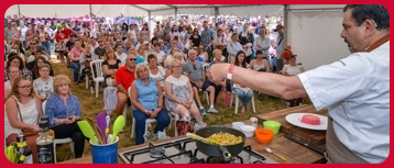 Cooking Demonstrations at the Cosford Food Festival