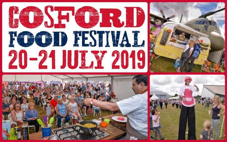 Cosford Food Festival 2019