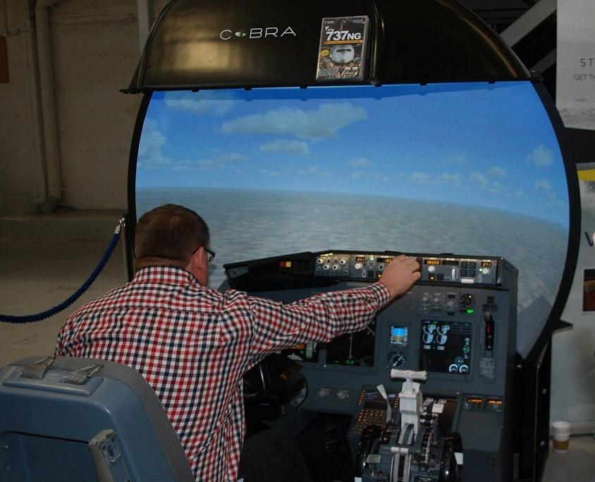 Flight Sim at RAF Museum Cosford