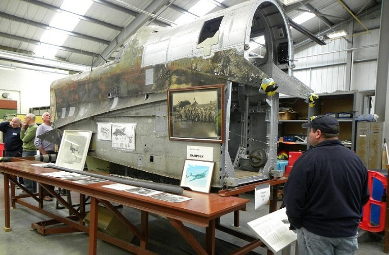 Handley Page Hampden Restoration