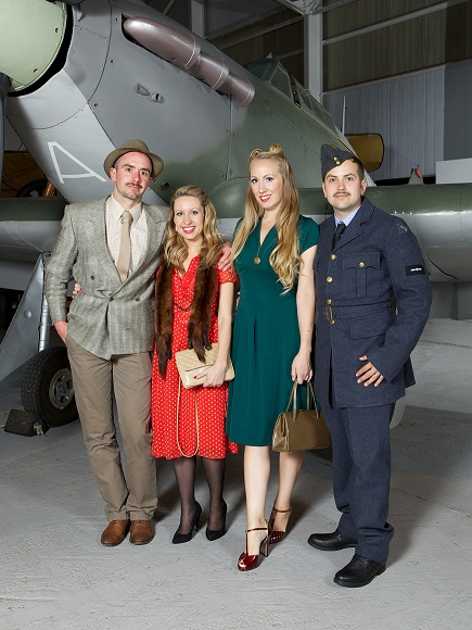 Wartime Hangar Dance