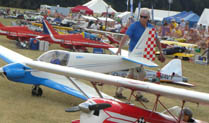 Large Model Aircraft Rally