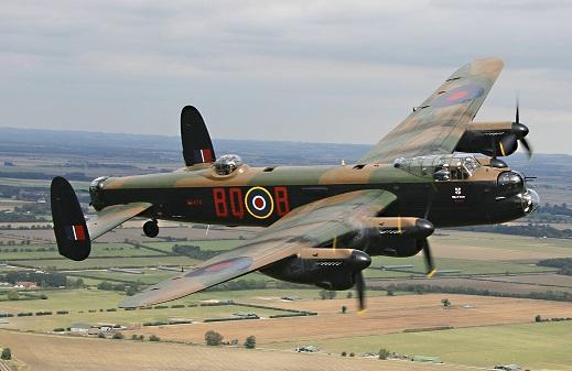Battle of Britain Memorial Flight Lancaster - Photo Credit Terry Lee