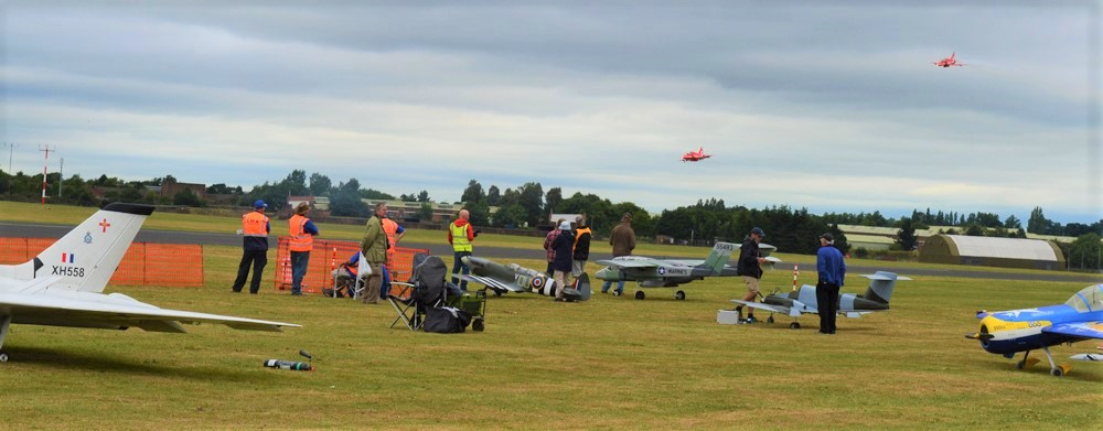 Large Model Air Show