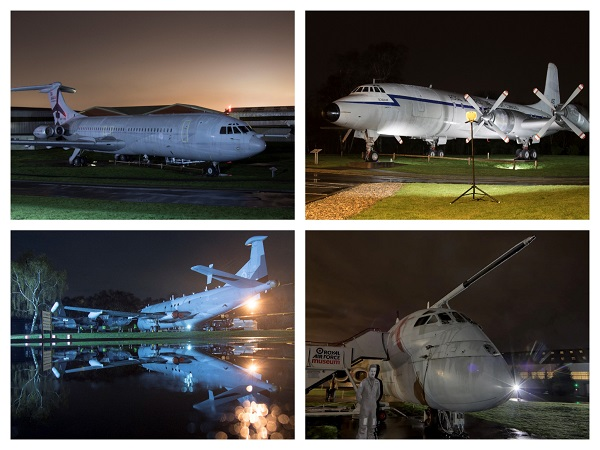 The recent night shoot held at Cosford