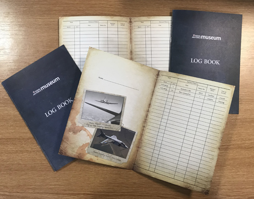 100 Open Cockpits and Cabs log book