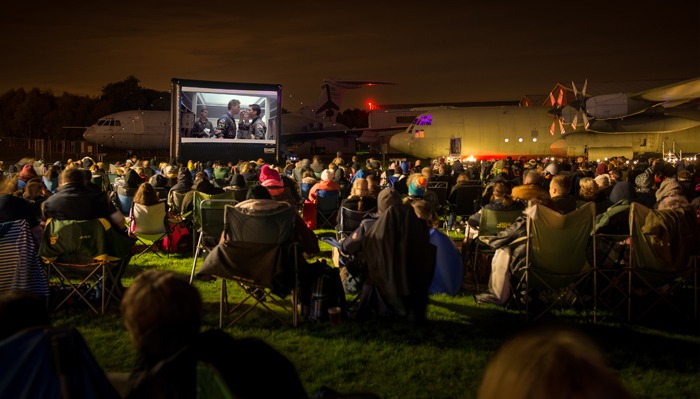 Sky's the limit as 'Star Wars' takes on 'Top Gun' at outdoor cinema