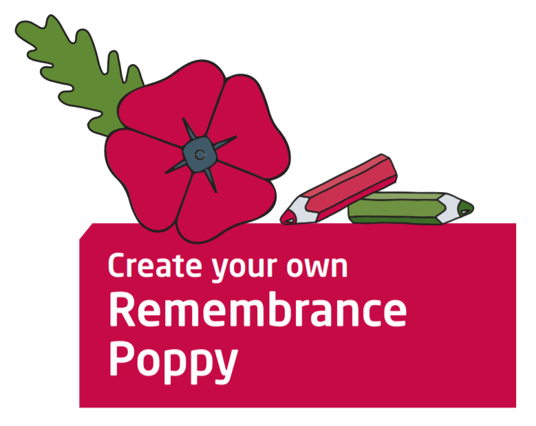 Create your own Remembrance Poppy