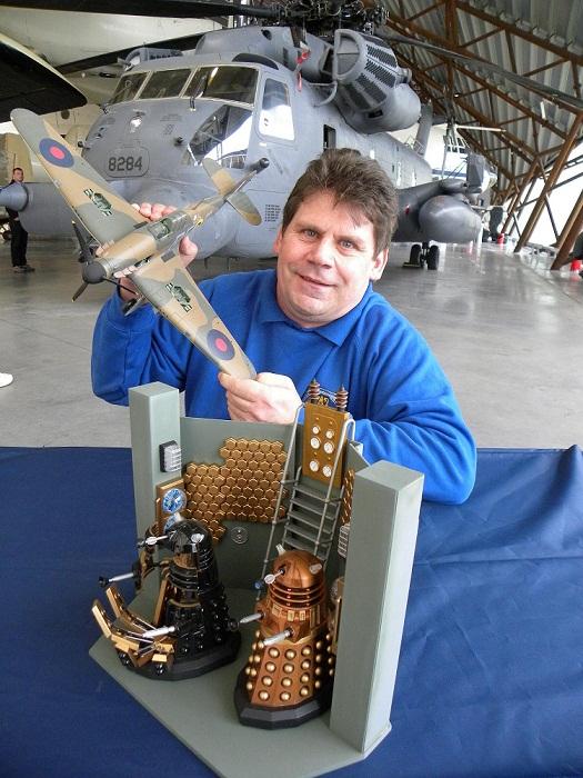 Shropshire Scale Model Show event organiser Gary Stevens