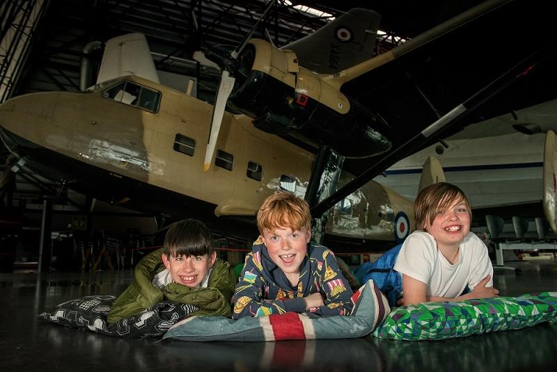 RAF Museum Cosford sleepover