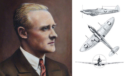 Spitfire creator RJ Mitchell CBE