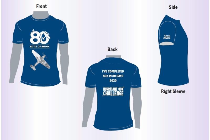 Hurricane 80K Challenge T-shirt