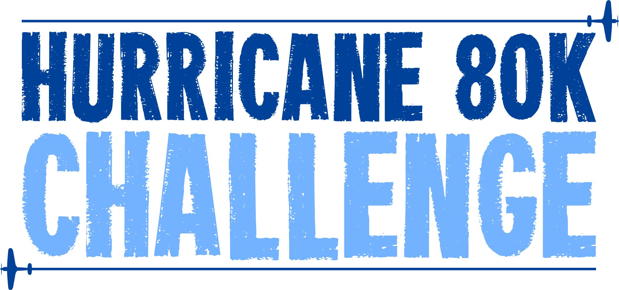 The Hurricane 80K Challenge Logo