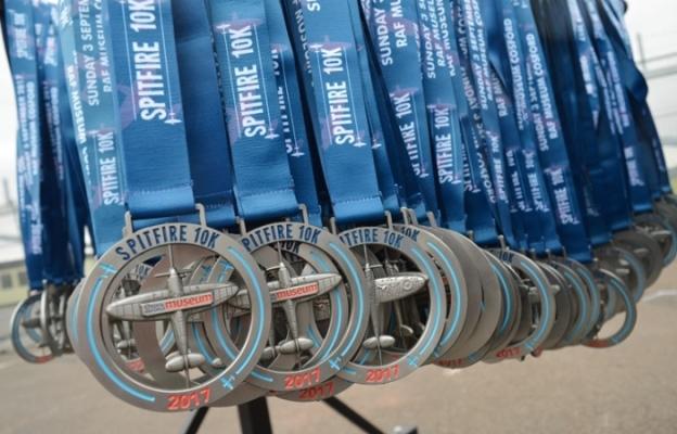 2017 Spitfire 10K Medals