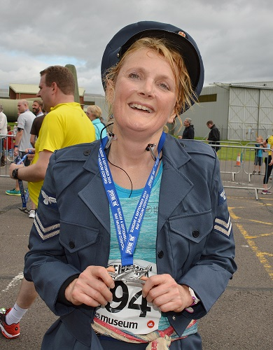 Runners will pick up a brand new Spitfire 10K 2017 medal on the finish line