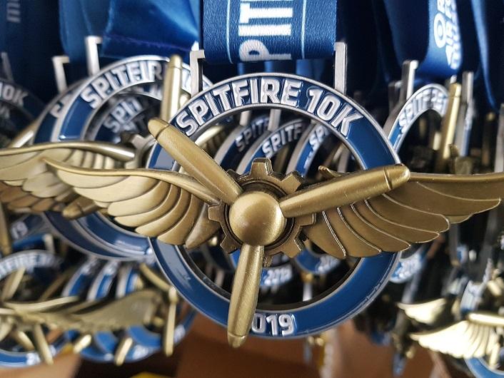 Spitfire 10K 2019 Medal