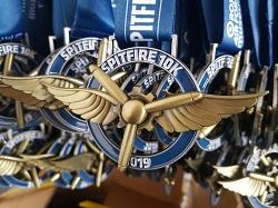 Spitfire 10K medal