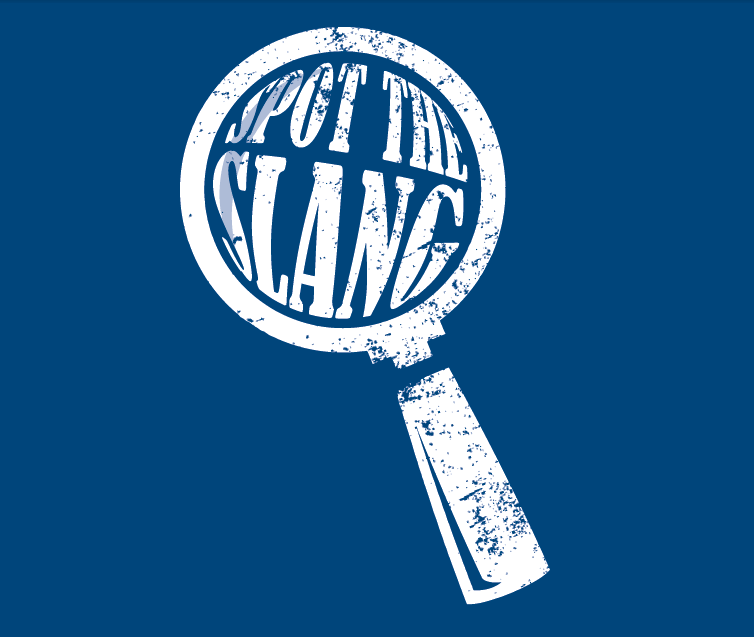Spot the slang logo