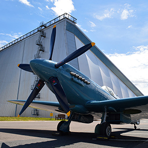Museum launches Summer of Spitfire at Armed Forces Weekend