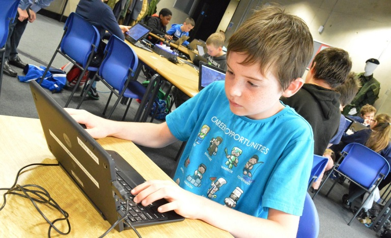Minecraft and Coding workshops for youngsters at Cosford