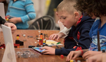 Family Activities Creations to Life with BRIXO Conductive Bricks