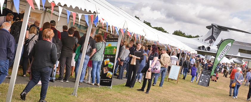 Over 50 local creators will  be housed in marquees