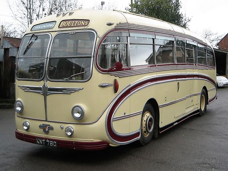 Vintage Shuttle bus