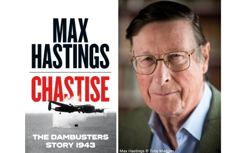 At 1.00pm Max Hastings will give a talk on Operation Chastise