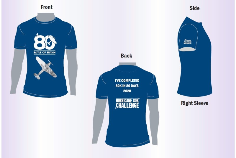 The Hurricane 80K Challenge T-shirt