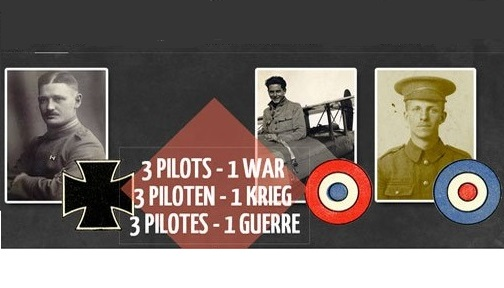 Three Pilots – One War Exhibition