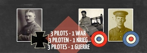 Three Pilots - One War Exhibition