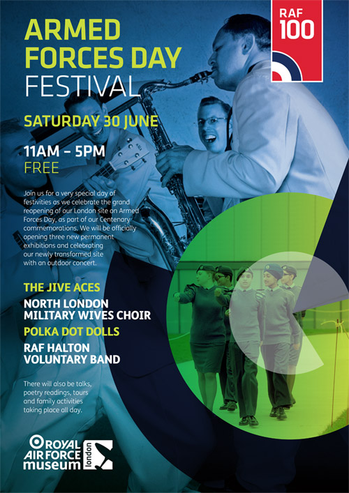 Armed Forces Day Festival Poster