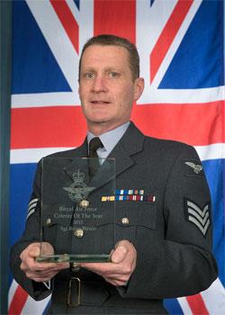 Sgt Brian Bernie, RAF Chef of the Year 2015