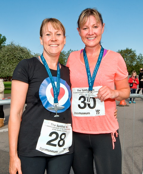 Runners at our 10k event last year