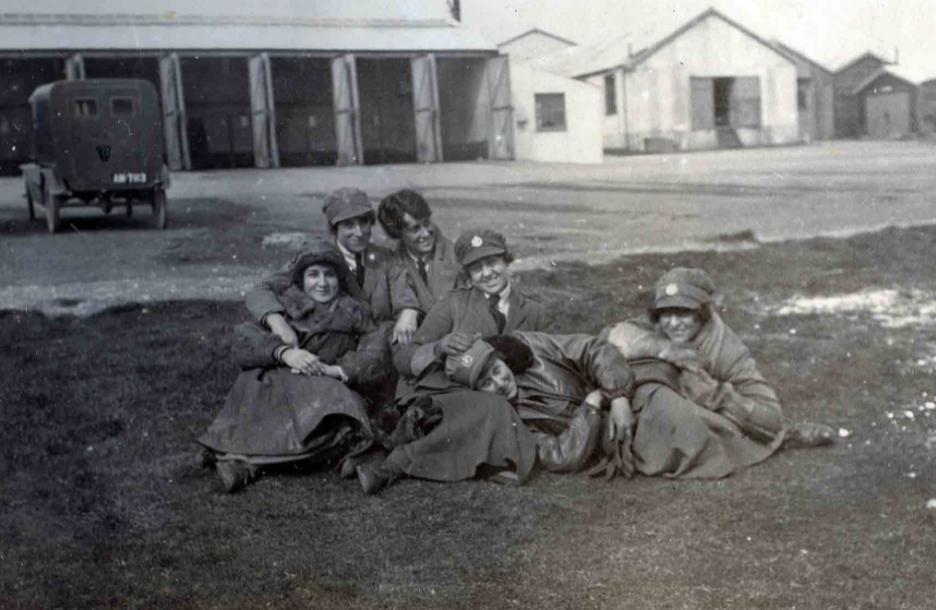 Members of the Women's Royal Air Force