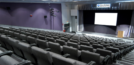 Our London Museum's Lecture Theatre.