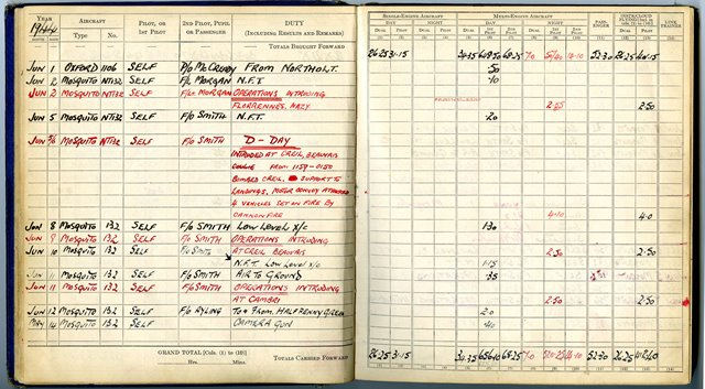 D-Day Log Book