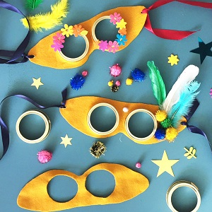 A selection of flying goggles