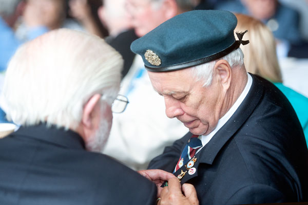 Veterans attending last year's RAF Day