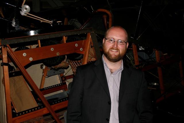 Ross Mahoney, the Museum's Aviation Historian