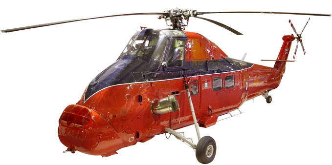 The Royal Wessex Helicopter