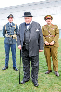 Just some of the re-enactors that you may see on Battle of Britain Day
