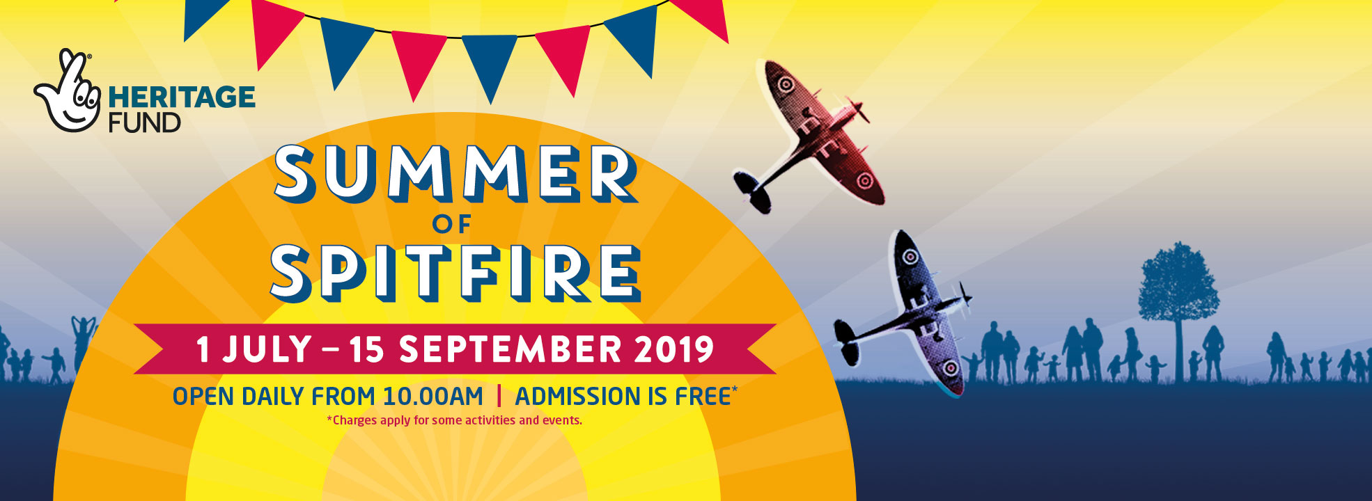 Join us for Summer of Spitfire at our London site.