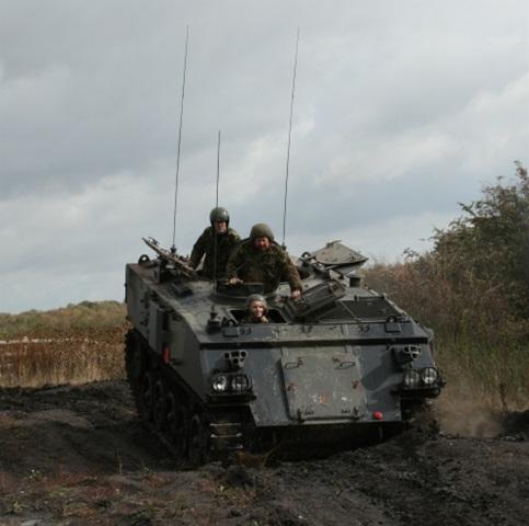 Tank off road